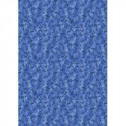 """""""Feuillage"""" - Bleu - Laura..."""
