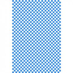 Damier - Bleu Roi & Blanc