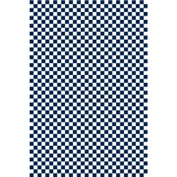Damier - Bleu marine & Blanc