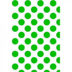 Grands pois - Vert