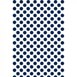 Pois - Bleu marine