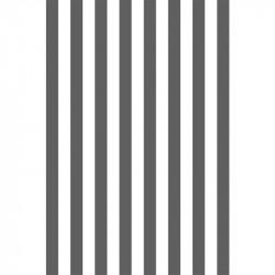 Rayures longitudinales - Gris