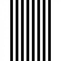 Rayures longitudinales - Noir