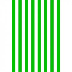 Rayures longitudinales - Vert