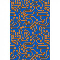Circuit imprimé - Bleu