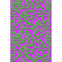 Circuit imprimé - Violet