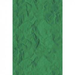 Papier froissé - Vert