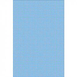 Pied de poule - Bleu