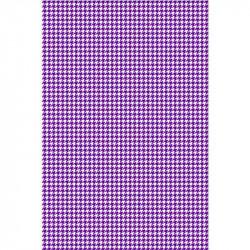Pied de poule - Violet