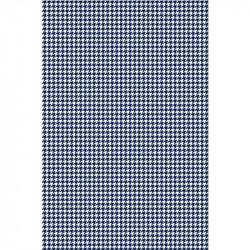 Pied de poule - Bleu marine