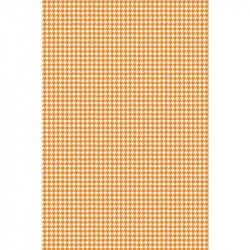 Pied de poule - Orange