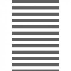 Rayures horizontales - Gris