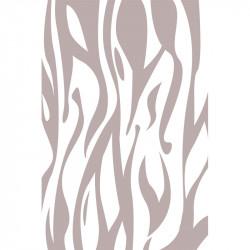 Flammes - Gris clair