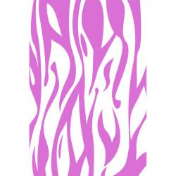 Flammes - Rose